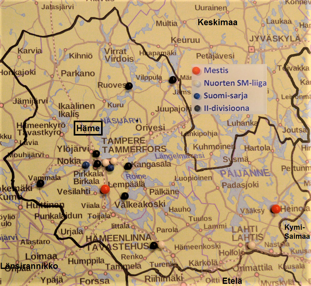 länsirannikko suomi kartta
